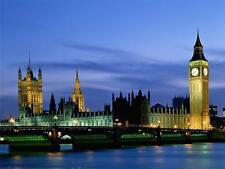 London big ben poster A4 260gsm