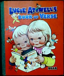 (Mabel) Lucie Attwell's Book of Verse Hardback Dean & Sons 1966 VGC