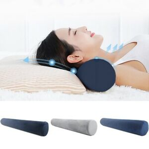 New Cylinder Foam Pillows Roll Cervical Bolster Nap Neck Spine Pillow Cushion