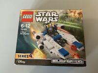 Lego StarWars U-Wing Microfighter 75160 Series 4 New Sealed Lego Set (20