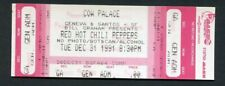 1991 Red Hot Chili Peppers Nirvana Pearl Jam Unused Concert Ticket San Francisco