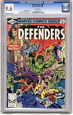 Defenders #86  CGC  9.6  NM+  white pages  8/80  R.Buckler Cover,  D.Perlin Art