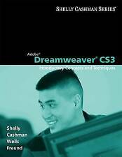 Adobe Dreamweaver CS3: Introductory Concepts and Techniques (Shelly Cashman Ser