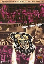 THE MIGHTY MAROONS THE THREEPEAT 2006 2007 2008 STATE OF ORIGIN NRL DVD