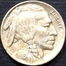 SEMI KEY 1916-P BUFFALO NICKEL FULL DATE + FULL HORN HIGH GRADE QUALITY COIN #3