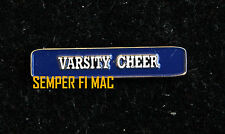 VARSITY CHEER COLLECTOR PIN HIGH SCHOOL COLLEGIATE UNIQUE ONE OF A KIND CHEER HS