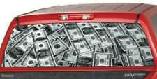 MILLION BUCKS Rear Window Graphic Decal Sticker Tint Truck SUV UTE Cap dollars