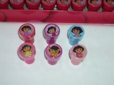 20 Nickelodeon Dora Explorer Self Inking Stamper Pencil topper Girl's Favor Gift