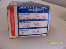 1 each DSOK115A5A MEC Timer Relay New old stock