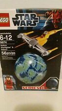 LEGO Star Wars Naboo Starfighter & Naboo (9674) NEW/with christmas ornament kit