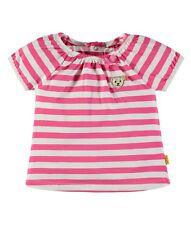 SO 18 - Steiff Azul Marino Kids Camiseta De Chica, rosa rayas talla 98 + 104