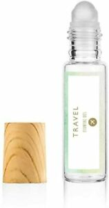 Travel Rollerball- 10ml- Aromatherapy Rollerball- Ginger, Peppermint, Lemon and