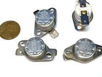 4 Pieces N/C 260ºC 500ºF normally closed Thermal NC Thermostat switch KSD301 A21