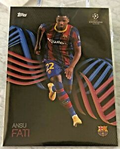 Topps UEFA Champions League Knockout Ansu Fati FCB OnDemand Card