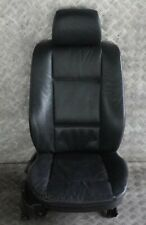 *BMW X5 Series E53 Front Right O/S Seat Black Leather Dakota Manual