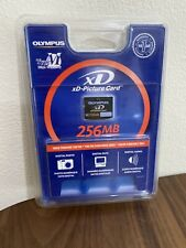 Olympus xD Picture Card M 256MB Memory Card, NEW - Factory Sealed