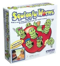 Squiggly Worms Game Matching Educational Learning Toy Girls Boys