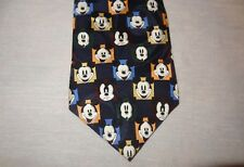 """Tie Mickey Mouse Expressions Faces Necktie 57"""" Walt Disney World Moods Happy Mad"""