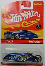 Hot Wheels Classics Series 1 Pit Cruiser 21/25 (Blue Version)