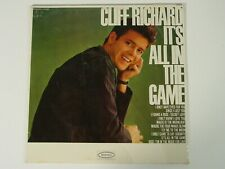 Cliff Richard album   It's All in the Game   Vinyl LP Factory Sealed  EPIC Mono