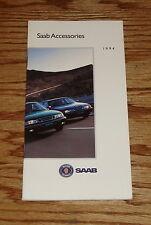Original 1994 Saab 9000 900 Series Accessories Sales Brochure 94