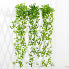 Artificial Fake Silk Rose Flower Ivy Vine Hanging Garland Wedding Home DIY Decor