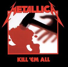 Metallica - Kill 'em All - New 180g Vinyl LP - 2016 Remaster