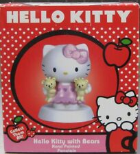 HELLO KITTY WITH TEDDY BEARS FIGURINE BY PRECIOUS MOMENTS ** BRAND NEW IN BOX**