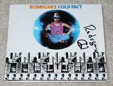 SIXTO RODRIGUEZ SIGNED 'COLD FACT' CD COVER BOOKLET TRIFOLD w/COA