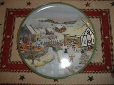 WILL MOSES 'The 12 Day of Christmas' Autographed Ltd & #'d 10 1/4 In Diam.Plate