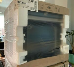 Siemens iQ700 Built-In Oven 60x60cm Stainless Steel HB672GBS1B *NEW IN BOX*