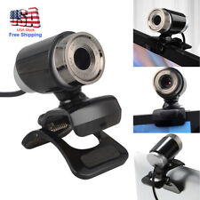 Full HD Webcam USB 2.0 Video Camera with Microphone for PC Laptop Clip on USA