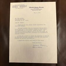 James L. Buckley Signed Typed Letter US Senate Stationery May 5, 1971