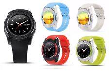Premium SmartWatch V8 Bluetooth Uhr SONY XPERIA XA1 PLUS SIM Android 8 Farben