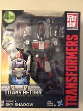 Transformers Generations Titans Return Sky Shadow leader class & Ominus
