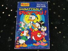 MICKEY PARADE IMBATTABLE PICSOU n° 1301 bis de 1977, bon état