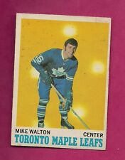 1970-71 OPC  # 109 LEAFS MIKE WALTON GOOD CARD (INV# A407)