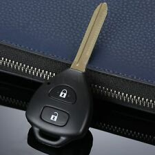 Replacement Uncut Remote 2Buttons Key Case Shell Fob fit for Toyota Corolla RAV4