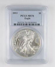 MS70 2011 American Silver Eagle - Graded PCGS *023