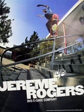 Dvs 2004 Jereme Rogers skateboard promotional poster Flawless New Old Stock