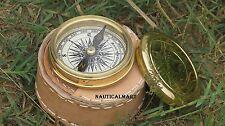 Brass Marine Pocket Compass 1920