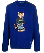 Polo Ralph Lauren Men's Tiger Embroidered Sweater