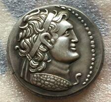 Souvenir Medal Paperweight Ancient Greek Roman Ptolemaic Kingdom Ptolemy IX READ