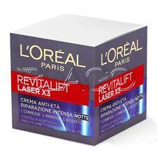 LOREAL PARIS REVITALIFT LASER X3 CREMA VISO NOTTE - 50ML