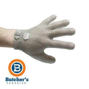 Butcher's Niroflex 2000 Stainless Steel Mesh Glove Protective Chain German Made