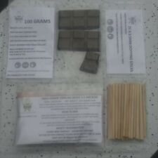 More details for ofm dopping lapidary starter kit cerium oxide dop wax & 25 sticks 4 cabbing cabs