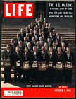 LIFE Magazine October 8 1956 U.S. Masons ~ State Masonic Grand Masters