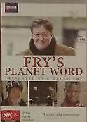 Fry's Planet Word Frys  (DVD, 2012, 2-Disc Set) R4 - Australian Release