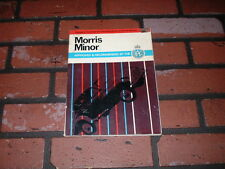 WORKSHOP MANUAL FOR MORRIS MINOR 1000 SERIES 2 & MM. 1969.