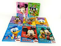 Huge Lot of 8 Mixed Mickey Mouse Clubhouse My First Smart Pad Hardcover Books
